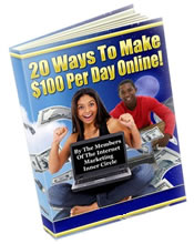 20 ways to Make $100 per day online